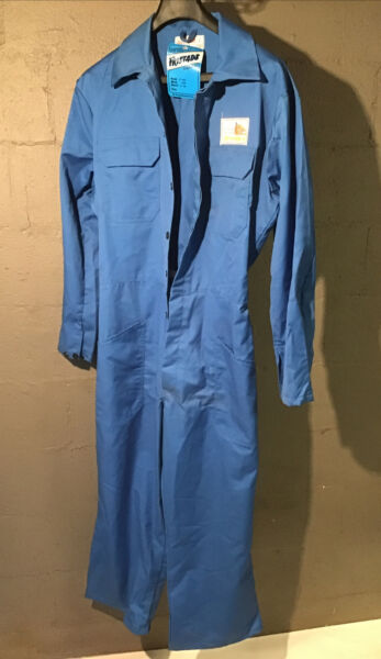 NOS NWT Husqvarna Chainsaw Service Team Chain Saw Dealer Coveralls Vintage Tool $250.00