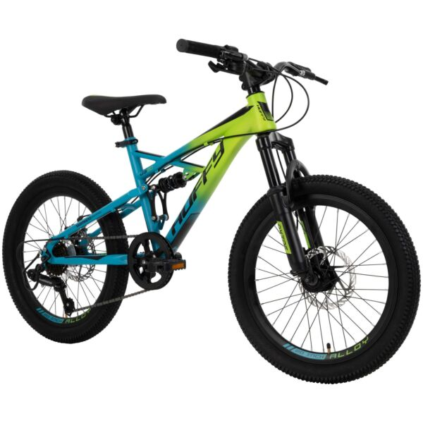 Huffy 20 inch 7 Speed Oxide Boys Mountain Bike for Kids Outdoor Lime Blue New $191.99