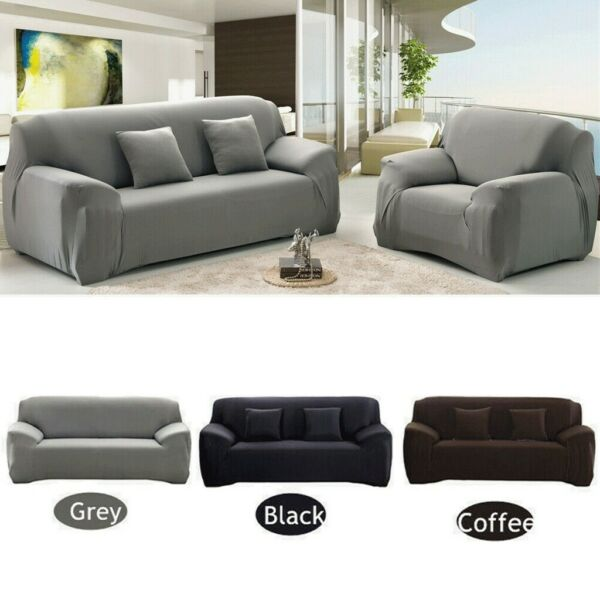 Stretch Seat Chair Cover Couch Slipcover Sofa Elastic Protector For 1 2 3 Seater $22.45