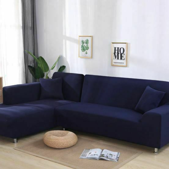 High Quality Stretch Slipcover Couch Sofa Cover Furniture Protector Soft Elastic $15.00