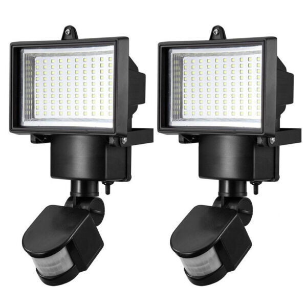 100 LED Solar Light Motion Sensor Security Lights Waterproof Garden Outdoor Lamp
