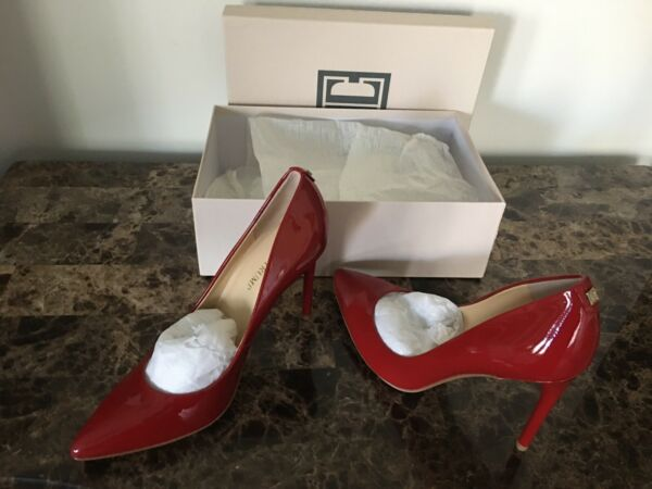 Ivanka Trump Kayden 4 Pump Women#x27;s Size 8.5M Red Patent $79.99