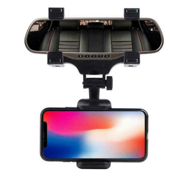 Universal Car Rear view Mirror Mount Holder For IPhone Samsung Phone GPS 360° $9.95