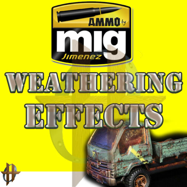 Ammo MIG Weathering Effects Stains Panel Line Washes Streaking FS $35