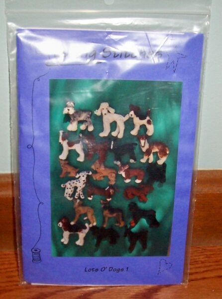 Loving Stitches Lots O#x27; Dogs 1 Pattern 20 different dog patterns New $9.99