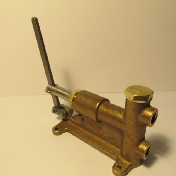 LIVE STEAM MANUALLY OPERATED 5 16 27 BOILER FEED PUMP NEW TRAIN TOOL USA $64.90