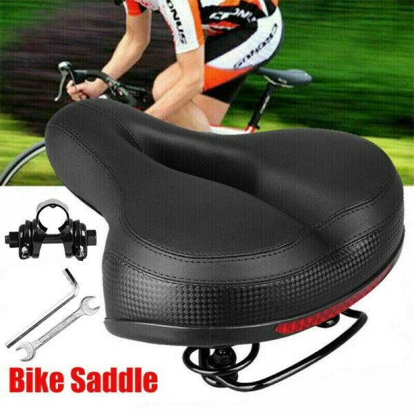 Most Comfortable Bike Seat for Men Mens Padded Bicycle Saddle with Soft Cushion $13.88