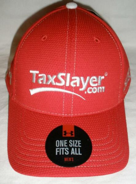 CHASE ELLIOTT TAXSLAYER TEAM UNDER ARMOUR HAT DALE EARNHARDT JR MOTORSPORTS NWT