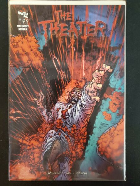 The Theater #4 B Zenescope VF NM Comics Book