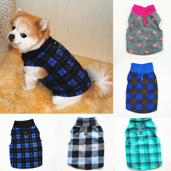 Pet Cat Dog Clothes Small Dog Sweater Coat Puppy Chihuahua Vest T shirt Costume $3.43