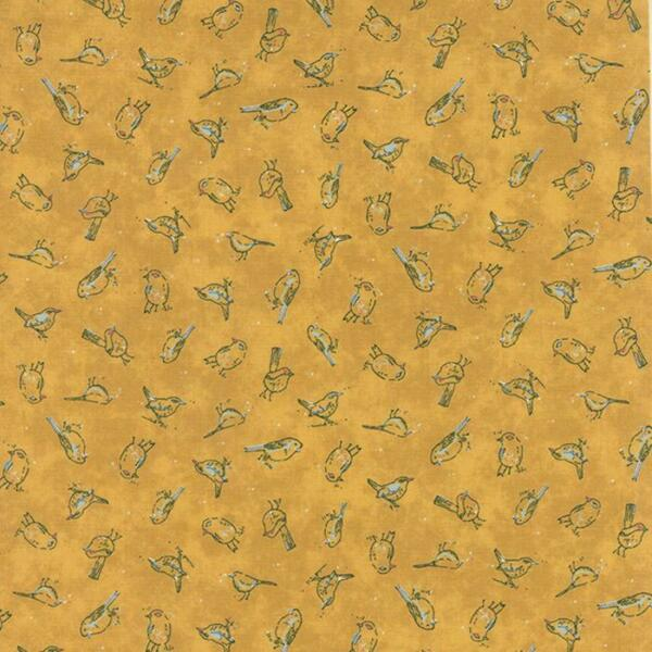 Basic Grey Persimmon Mulled Cider Moda Fabric 30388 16 By the 1 2 Yard