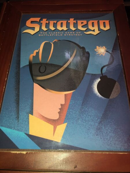 Stratego Vintage Game Collectionmilton Bradley Wood Box 2005