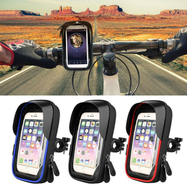 Bicycle Motor Bike Mount Phone Holder Various For Mobile Phone Waterproof Case $12.99