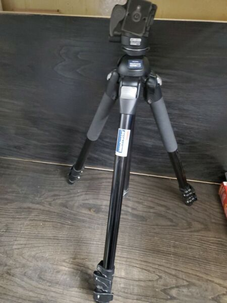 Bogen Manfrotto 3021BPRO Tripod w Manfrotto 486rc2 head