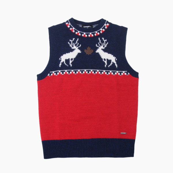 DSquared2 Kids Wool Blend Sleeveless Knit Jumper Age 12 Years BNWT DSquared Boys GBP 39.95