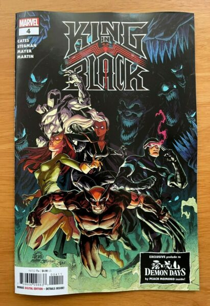 KING IN BLACK 4 Stegman Main Cover A 1st Print Cates Marvel NM 2 17 PreSell