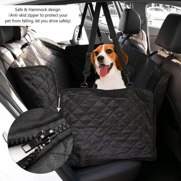 Waterproof Car Pet Dog Seat Cover Hammock SUV Back Protector Quilted Padded Mat $21.98