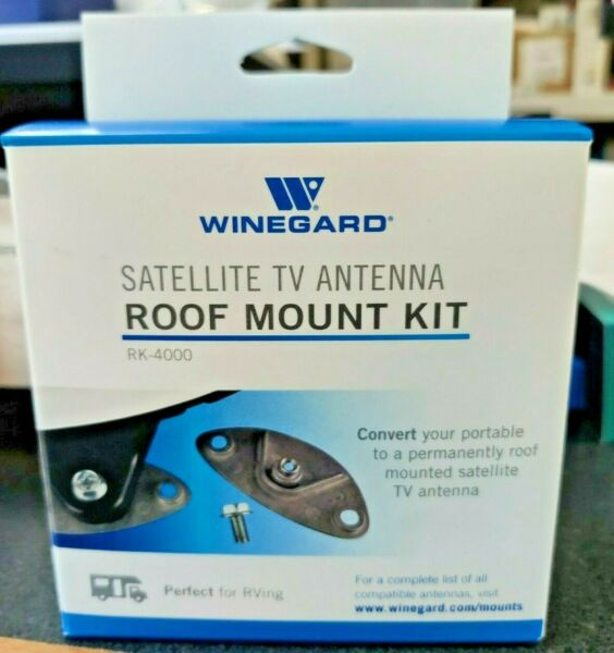 Winegard Company RK 4000 Playmaker Roof Mount Kit Made in USA $49.99