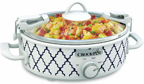 2.5 Quart Mini Casserole Crock Slow Cooker Perfect for Your Kitchen
