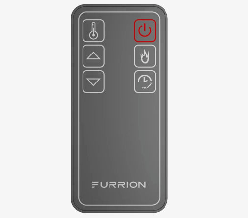 FURRION REPLACEMENT FIREPLACE REMOTE CONTROL FOR MODEL FF40SC15A BL *RR