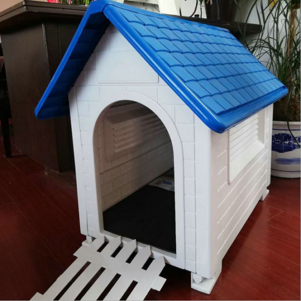Indoor Outdoor Dog House Small Medium Pet All Weather Waterproof Puppy Shelter. $79.95