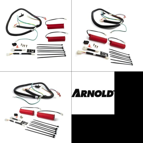 heated hand grips upgrade kit for cub cadet and troy bilt snow throwers