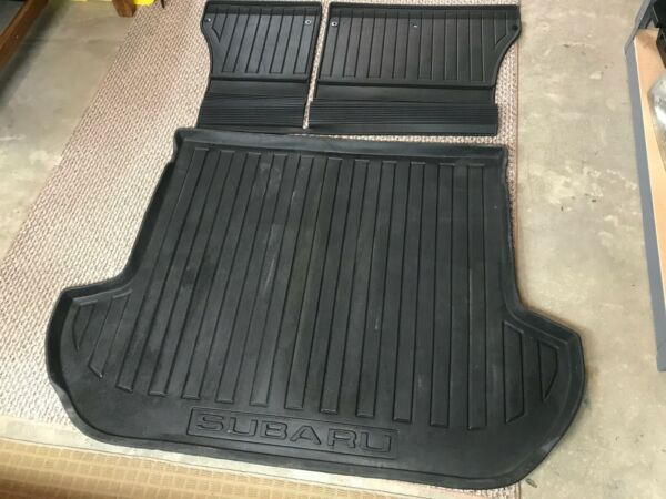 10 14 OEM Subaru Outback Trunk Mat liner protector tray all weather w seat mat $64.90