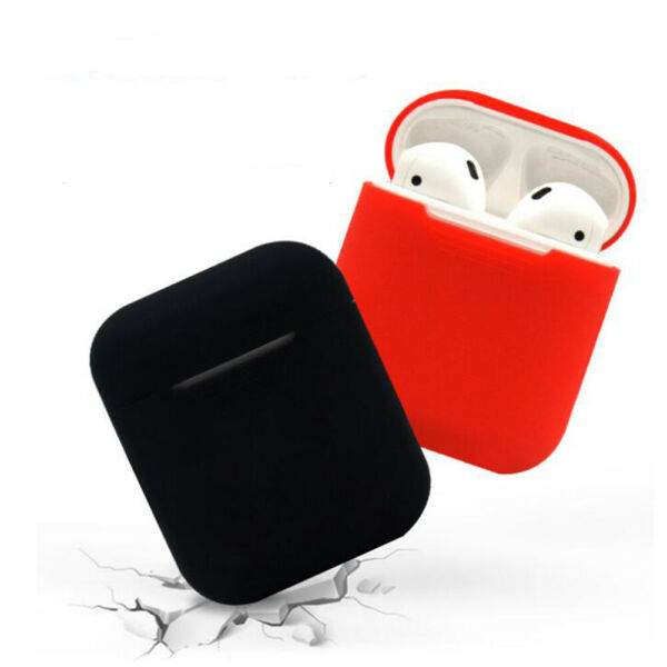 Soft Silicone Shock Proof Cover Protector Case Skin For Apple AirPods Earphones $1.39