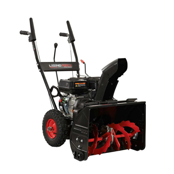 22 In. Two Stage Gas Snow Blower With Recoil Start