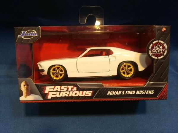 2020 Fast amp; Furious Roman#x27;s Ford Mustang Collectors Series Die Cast 1:32 Scale
