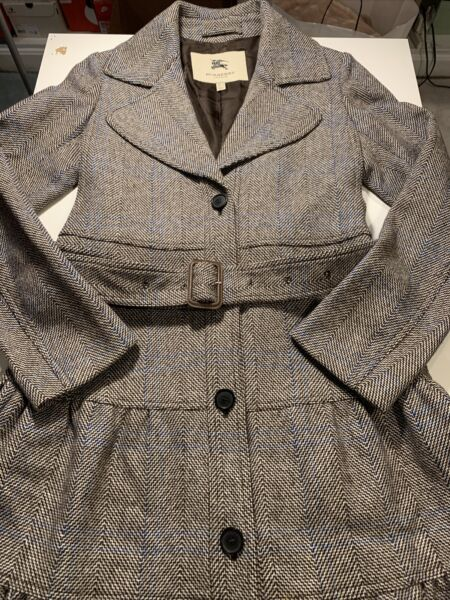 burberry coat women Size US 6 UK 8 Made In Italy $248.88