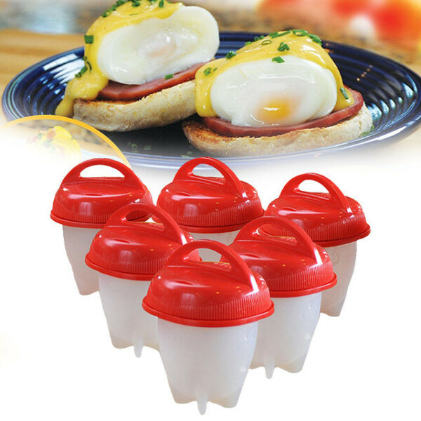 Silicone Egg Boiler by TV Time Direct Set of 6 $10.69