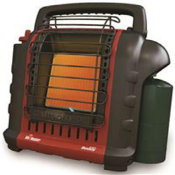 Mr Heater Radiant Propane Portable Heater W Piezo Igniter Single Start Knob