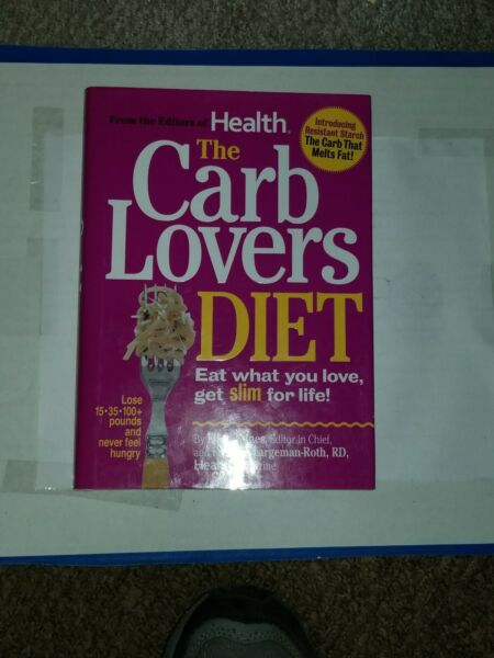 The Carb Lovers DIET: Eat What You Love Get Slim for Life by Ellen Kunes and $3.49