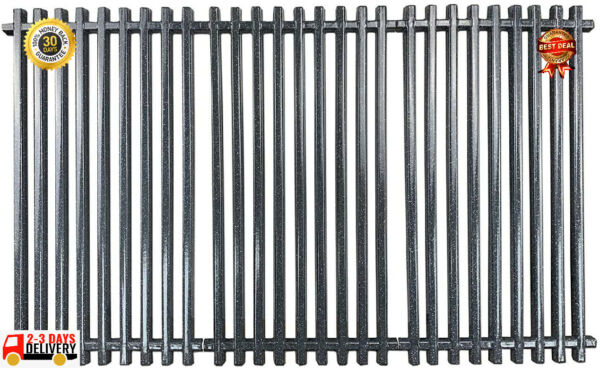 Porcelain Steel Grill Grates Replacement for Charbroil 463440109..Hisencn ...