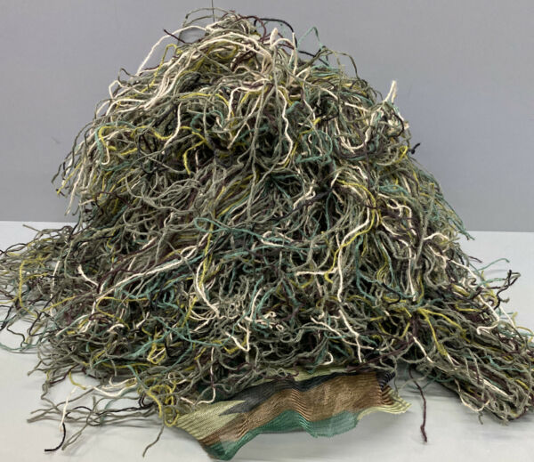 Ghillie Suit M L Camo Woodland Camouflage Forest Hunting 3 Piece Bag