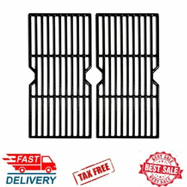 quot;Charbroil Cast Iron Grill Grate Cooking Grid Replacement Parts for Gas Grills quot;