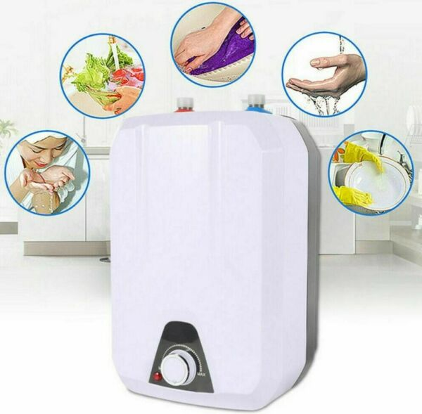 New 110V 1500W 8L Instant Electric Tankless Hot Water Heater Home Whole House $74.59