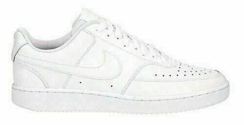 Nike Women#x27;s Court Vision Low Shoes Triple White CD5434 100 NEW $45.99