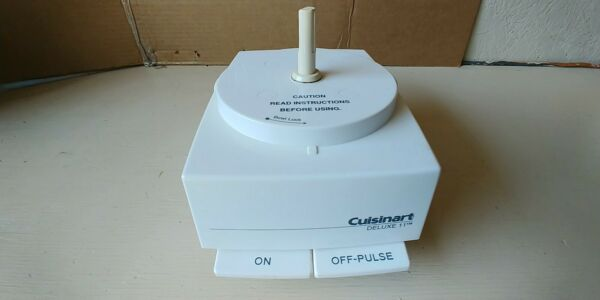 CUISINART DELUXE 11 Food Processor Replacement Motor Base Only DFP 11 TX TESTED