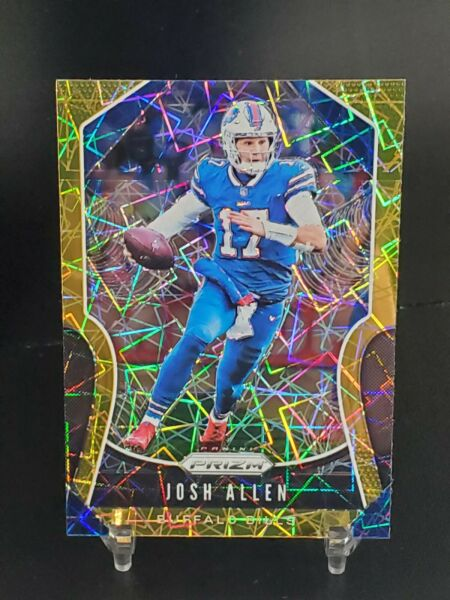 🏈 2019 Panini Prizm Josh Allen #3 Gold Lazer SP 2nd Year Buffalo Bills MVP?🔥 $89.95