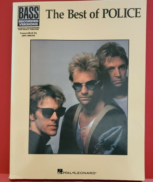 Best of The Police for Bass Guitar Tab Intermediate Sheet Music Lyrics Song Book $19.99