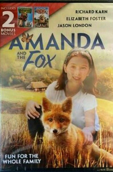 Amanda and the Fox 2 Bonus Movies Tommy And The Cool Mule Dog Gone New $4.99