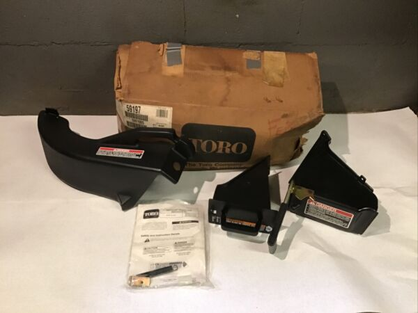 NOS Toro 21quot; Recycler Lawnmower Side Discharge Chute Deflector Kit 59197