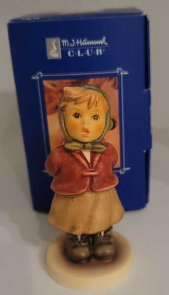 Goebel Hummel Clear As A Bell # 2181 3.75quot; w box and certificate $12.00