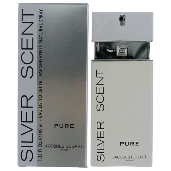 Silver Scent Pure by Jacques Bogart 3.4 oz EDT Spray for Men