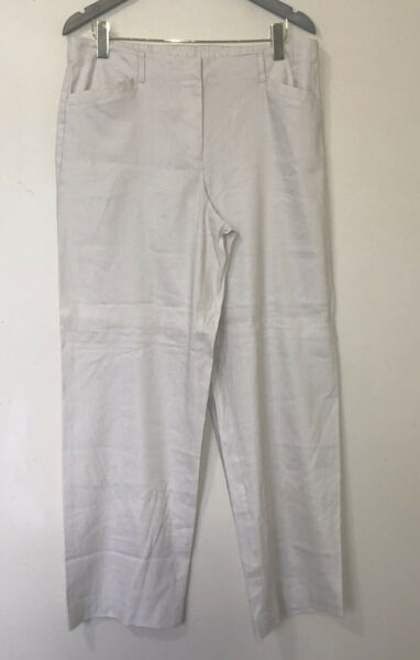 NWT J. Jill Linen Stretch Pants Size 14 $27.50