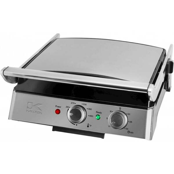 Eat Smart Electric Grill Stainless Steel