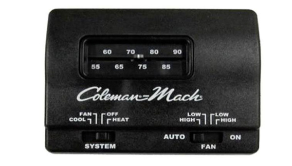 COLEMAN MACH 7330F3852 12V DC HEAT COOL WALL THERMOSTAT *S22 $45.99