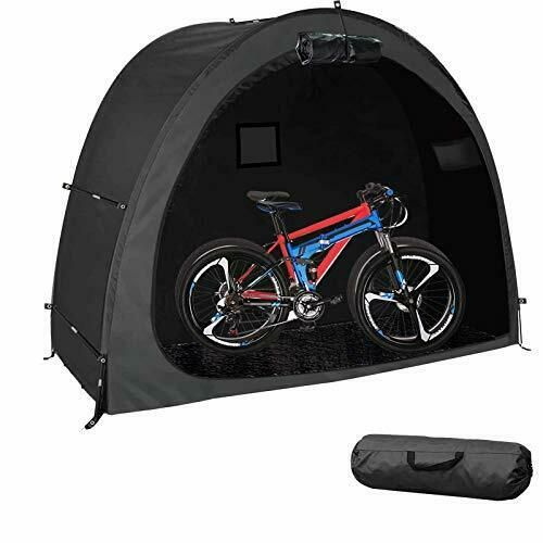 All Weather Foldable Bicycle TentPortable Bike Storage Tent Cover Thicken $92.88